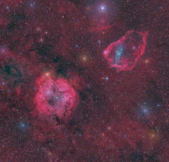 IC1396 and SH2-129