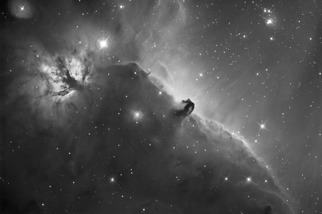 Horsehead Nebula in H alpha