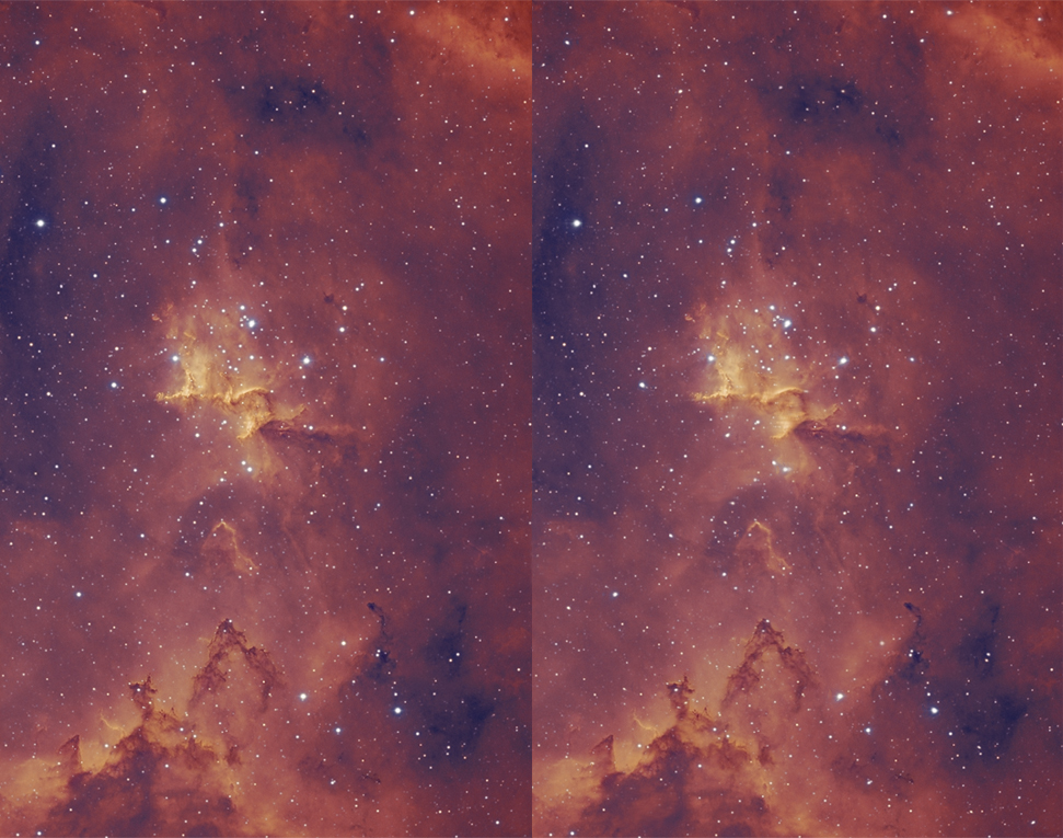 IC1805 in 3-D