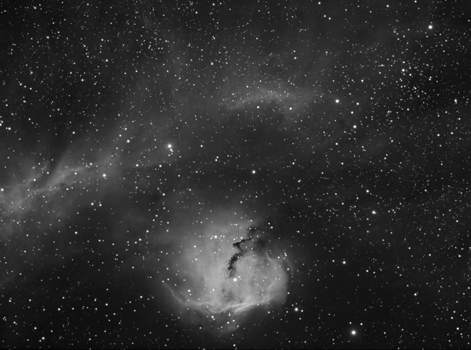 IC 2177 in Hydrogen Alpha