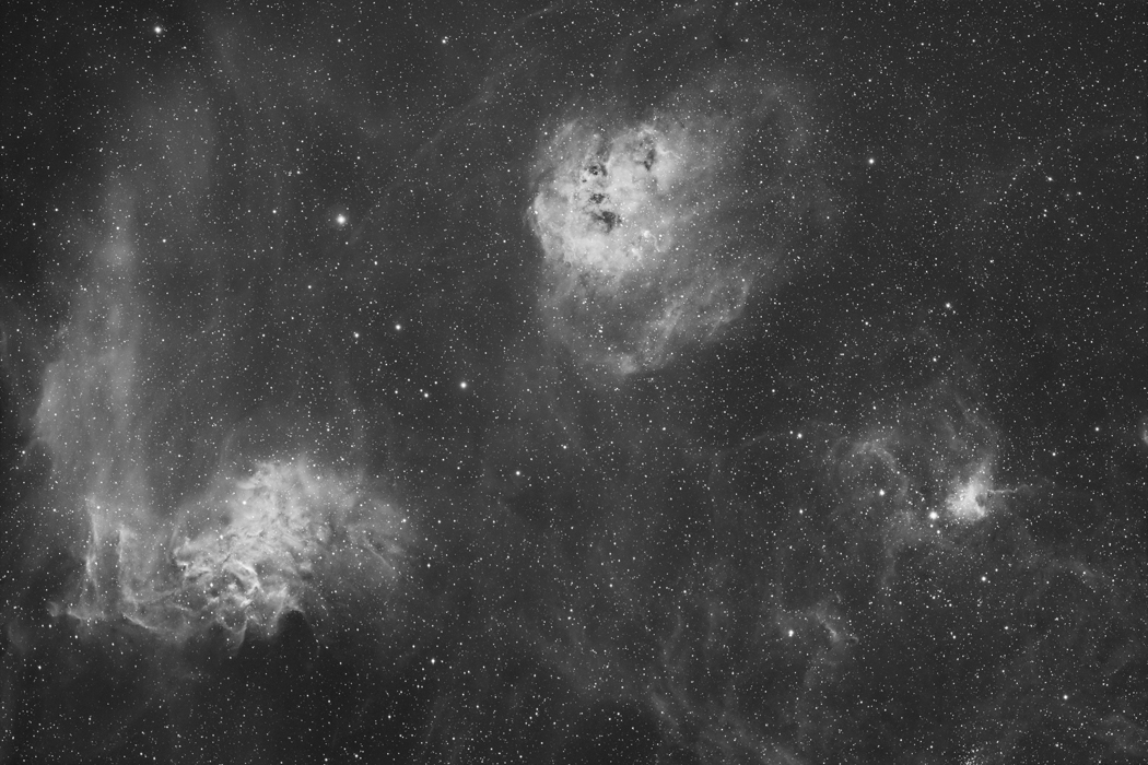 IC410 and Surroundings