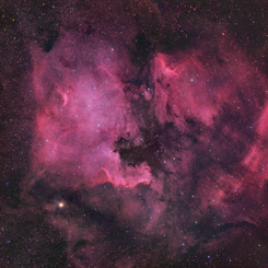 North America and Pelican Nebulae