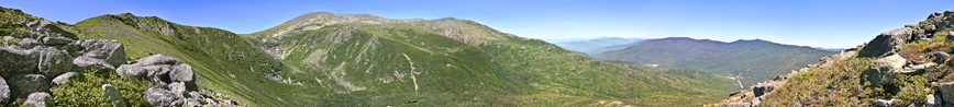 Tuckerman Panorama from top of Boottspur Trail